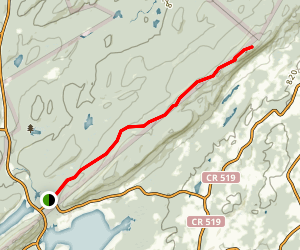 Sunrise Mountain Road Trail Map