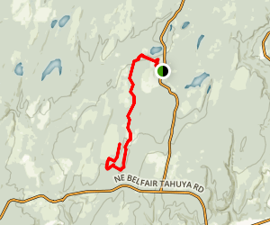 Mission Creek Singletrack  Map