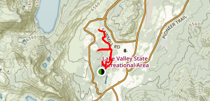 Washoe Meadows Trail Map