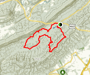 Poverty Creek Trail Map
