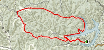Greenbo Lake Trail Map