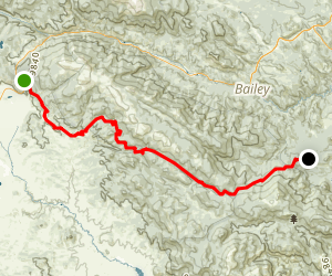 Kenosha Pass to Lost Creek Wilderness  Map