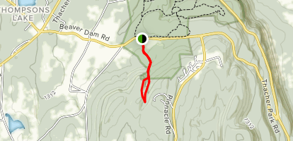Roemers High Point Trail [PRIVATE PROPERTY} Map