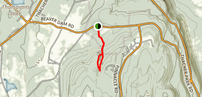 Roemers High Point Trail [PRIVATE PROPERTY] Map