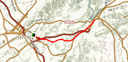 Tweetsie Trail Map