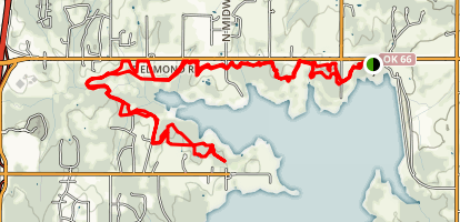 Arcadia Lake Trail  Map