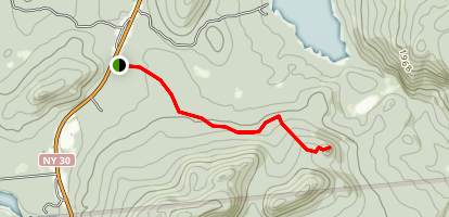 Elephant's Head Trail Map