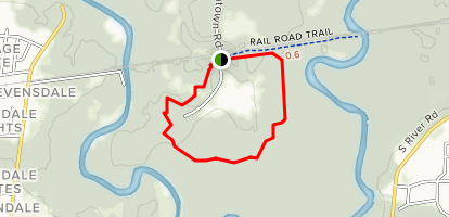Hardwood Forest Loop Trail Map