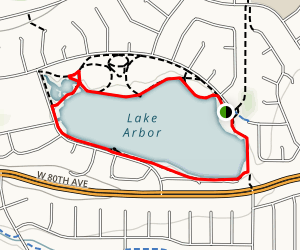 Lake Arbor Trail Map