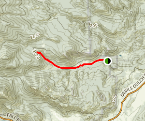Cow Creek Trail Map