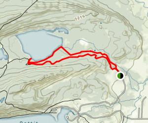 Yellow Belly Lake Trail Map