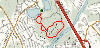 Ralph Hill Park Trails Map