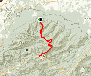 Cold Spring Bald Mountain Trail Map