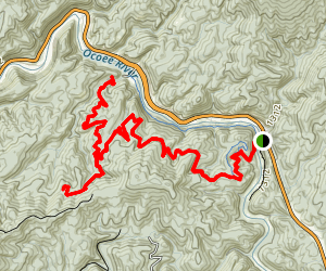 Thunder Rock Express Trail Map