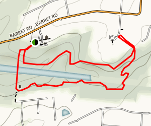 Keehner Park Trail Map