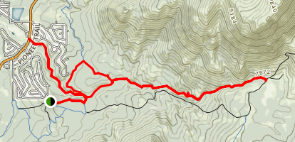 Cold Creek Loop Trail Map