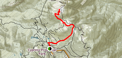 Collins Trail Map