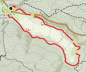 Wawona Meadow Loop Trail Map