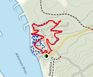 Tollantusky Trail Map