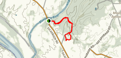 Monocacy Natural Resources Area Trail Map