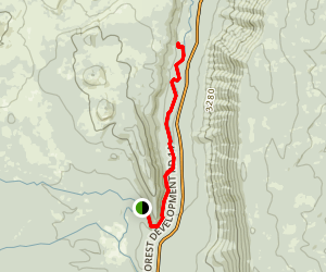 West Metolius River Trail Map