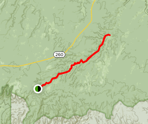Black Canyon Trail Map