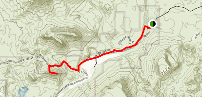 Indian Mesa Trail Map