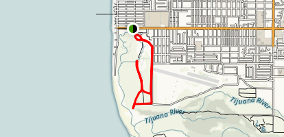 Tijuana Estuary Trail Map