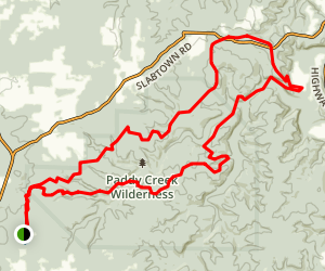 Big Piney Trail Map