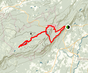 Mohonk Loop Trail Map