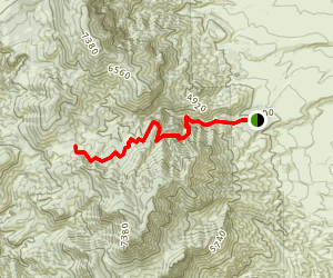 Barnhardt Trail Map