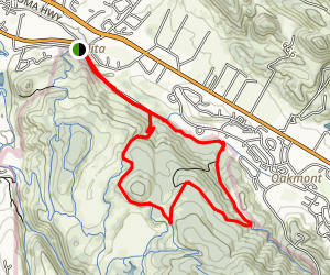 North Burma Loop Trail Map