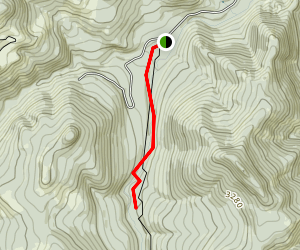 Bagby Hot Springs Trail Map