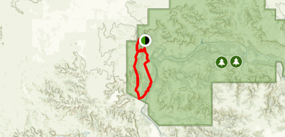 Achenbach/Bison Trail Loop Map