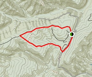 Mud Pond Gap Trail Map