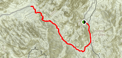 Cochise Stronghold Trail Map