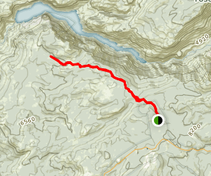 White Wolf to Smith Meadow Trail Map
