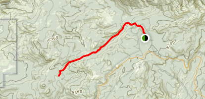 White Wolf to Aspen Valley Trail Map