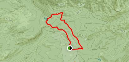 White Wolf to Pate Valley Trail Map