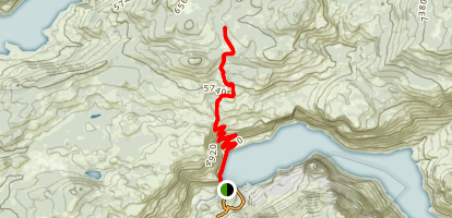 Beehive Meadow Trail Map