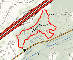 Lime Kiln Quarry Reservation Trail Map