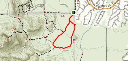 Passey Loop Trail Map