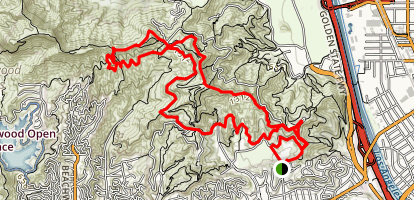 Hogback Loop Trail Map
