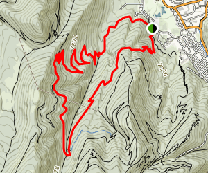 Spiro Trail Map