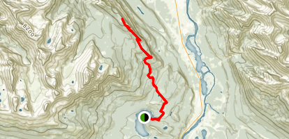 The Palisade Lookout Map