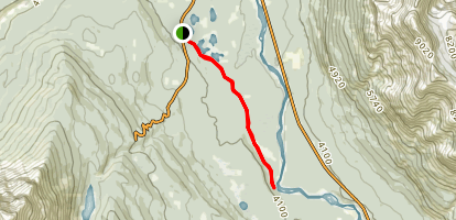 Fryatt Creek Map