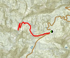 Relay Peak Trail Map