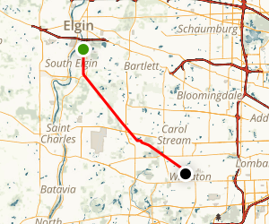 Elgin Branch Trail Map
