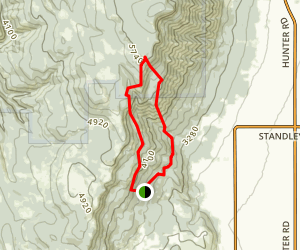 Evans Trail Map