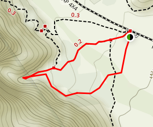 Lost Creek Loop Trail Map